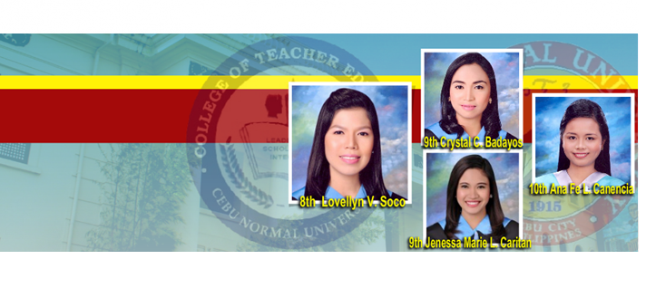 Kudos, to the CNU College of Teacher Education for making it to the top!