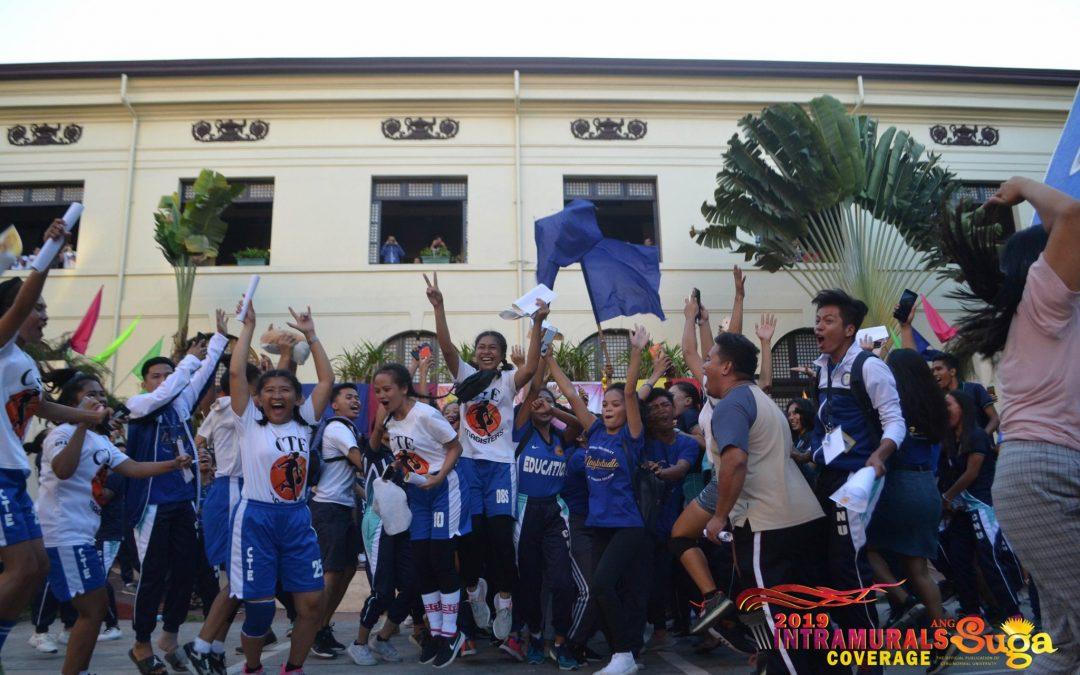 CTE remains atop for Intrams 2019